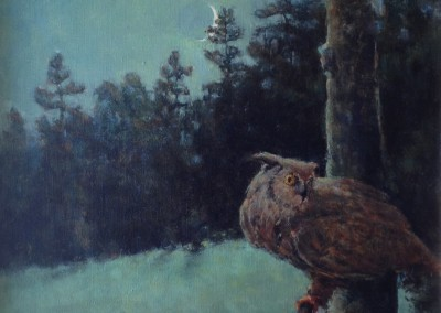 "Perry Austin, ""Twilight Survey"", 20x16, oil"