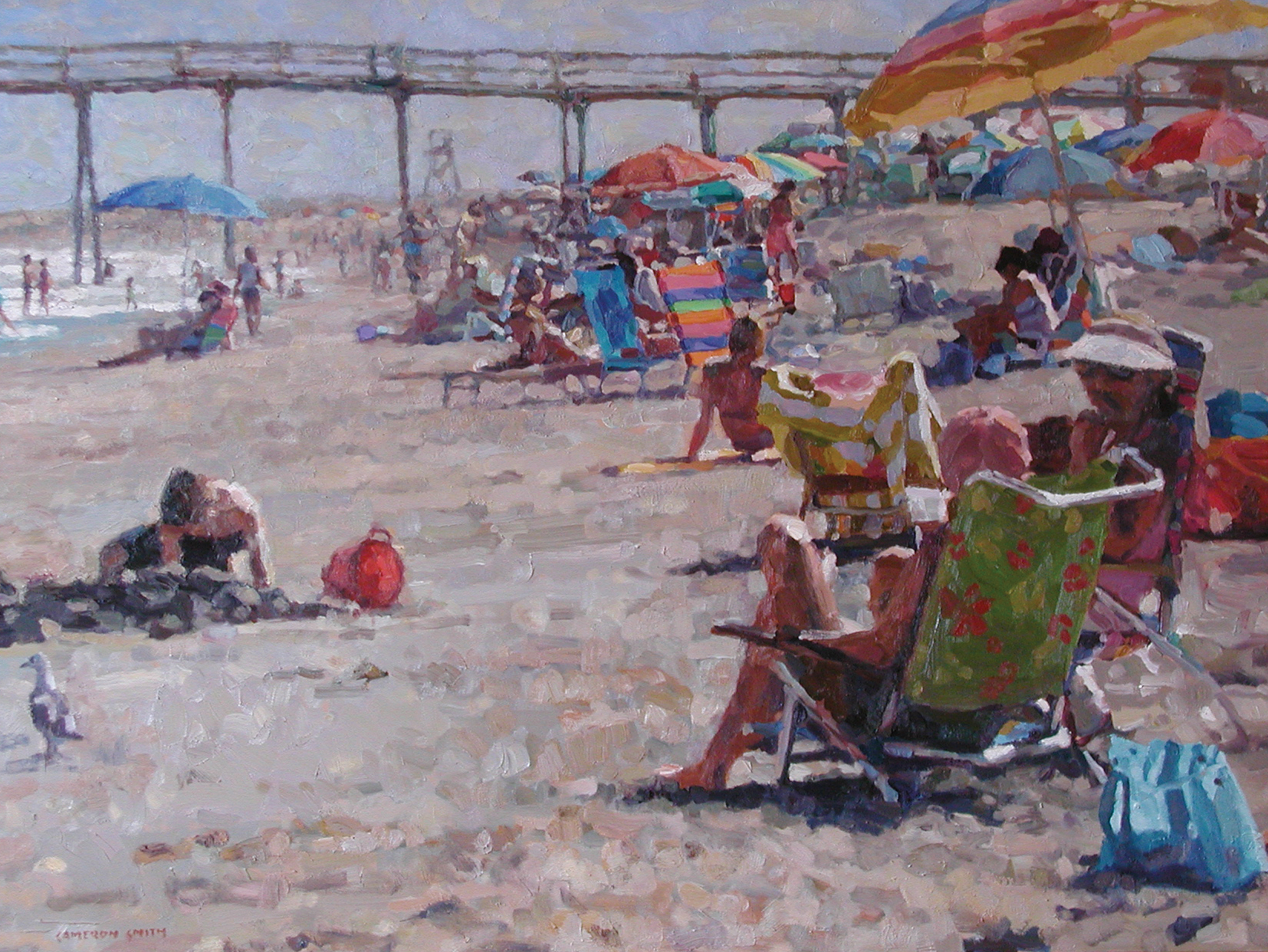 Walls Fine Art Gallery, Cameron Smith, fine art, wilmington artist, north carolina artist, Wrightsville Beach, Wilmington native, wrightsville beach surfer