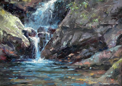 "Tom Bluemlein - ""Waters From the Light"" 24x30, 4200"