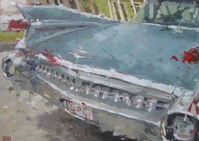 "David Boyd Jr - ""Galvaston Caddy"", 30x40, 2400"