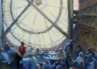 """Fred Doloresco - """"Time for Lunch"""", 16x20, price 2000"""