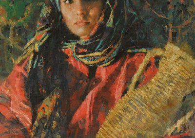 "Michael Dudash - ""Rahab"", 20x16, price 4200 Award Of Excellence"
