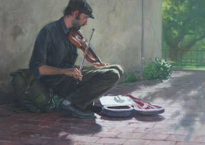 "William Farnsworth - ""The Soloist"", 20x24, price 4000"