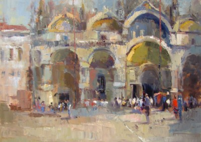 "Barbara Flowers - ""San Marco"", 30x30, price 4000"