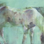 "Linda Hutchinson - ""Dappled"", 30x40, $6000"
