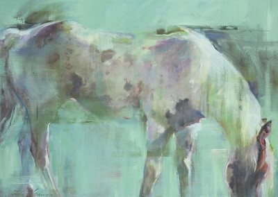 "Linda Hutchinson - ""Dappled"", 30x40, 6000"