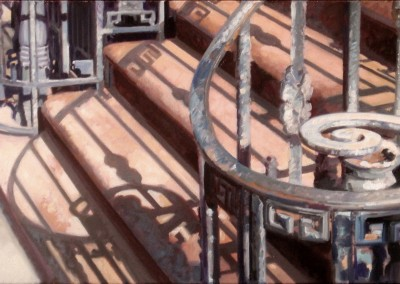 "Andrew Jones - ""West 21st Street Shadows"", 12x24, 3000"