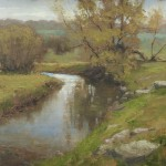 "Thomas Kegler - ""Early Spring Pool: Psalm 37:3"", 12x16, $2200"