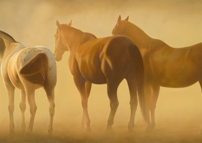 """Cees Penning - """"Bracing the Storm"""", 18x36, 6600"""