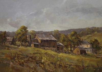 "Jerry Smith - ""Summer Grazing"", 24x30, 3000"