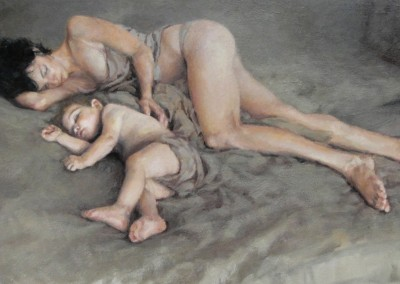 "Cameron Smith - ""A Moment's Rest"", 20x35, 7200 Award Of Excellence"