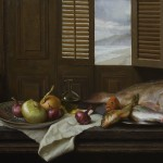 "Michael Van Zeyl - ""Still Life with an Ocean View"", 20x36, $3800"