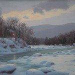 "Sam Vokey - ""Winter Twilight"", 16x20, $5200"