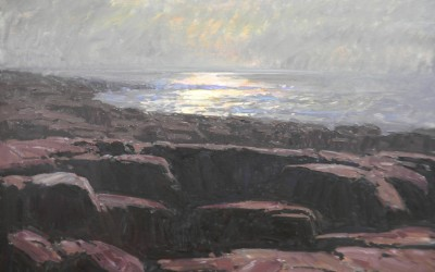 "Tim Bell - ""Lobster Cove"", 30x40, Oil"