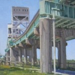 Walls Fine Art Gallery|Robert Isley|Paint Wilmington|artists|Savannah|Fine Art|oil paintings|Georgia artists|North Carolina Artists|galleries|fine art galleries|Cape Fear|bridge|industrial painting|structural