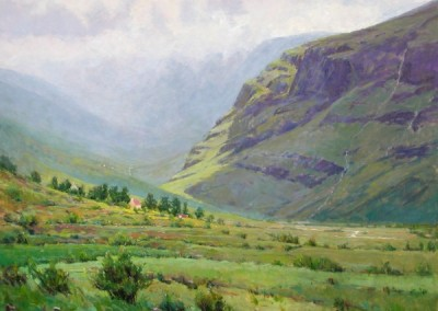 Perry Austin - County Kerry, 48x60, SOLD