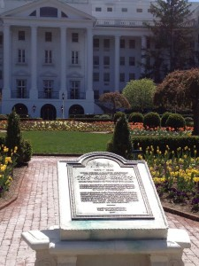 The Greenbrier - The North Entrance
