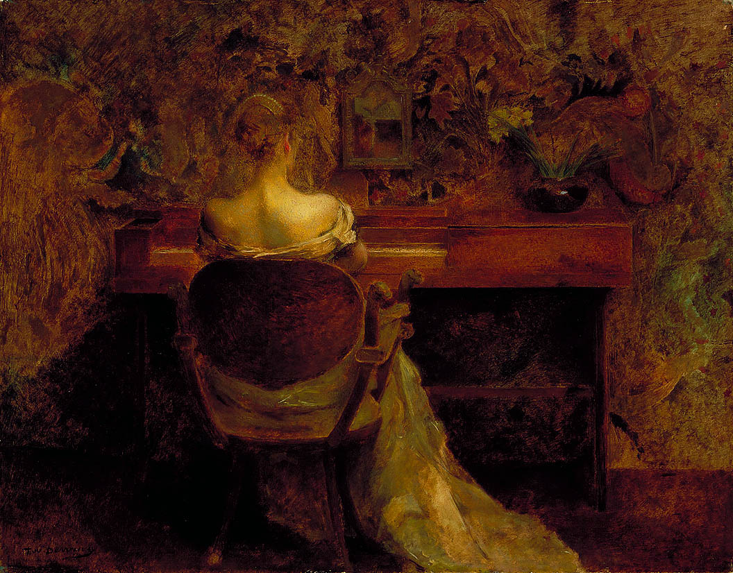 Thomas Dewing - The Spinet