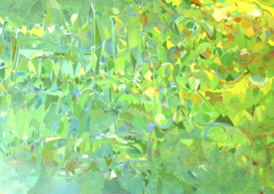 "David Leadman - ""Summer Hill Silver Lake"", 30 x 48, Oil, SOLD"