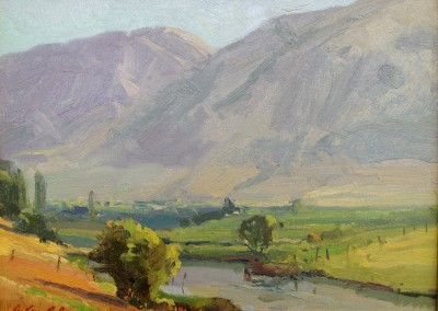 "G. Russell Case - ""Early Summer"", 9x12, Oil"