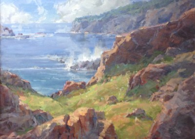 "Steve Songer - ""Acadia National Park"", 24x30, Oil"