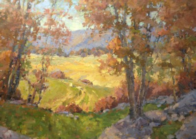 "Steve Songer - ""Across the Valley"", 30x36, Oil"
