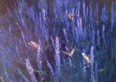 "Kenn Backhaus - ""Lavender"", 18x24, Oil, SOLD"