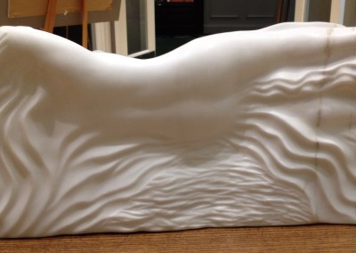 "Gennadi Kirichansky - ""Peace "", Backview, 27"" x 13"" H x5"", Marble"