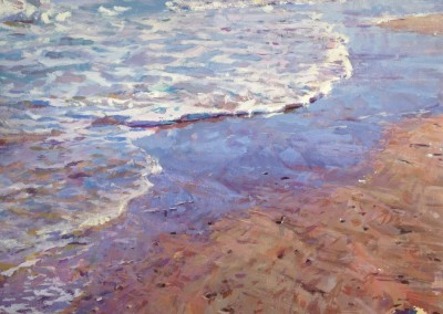 "Cameron Smith - ""Evening Tide"", 48x48, Acrylic, SOLD"