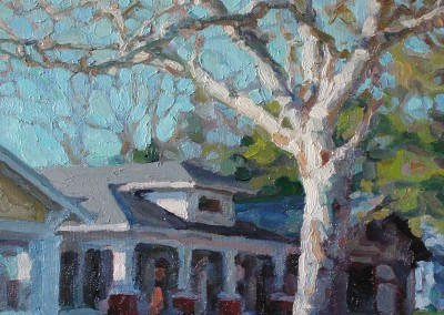 "Cameron Smith - ""Sycamore"", Acrylic, SOLD"