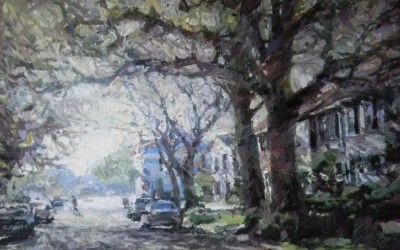 "Cameron Smith - ""Quiet Afternoon"", 30x40, Oil, Sold"