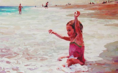 "Cameron Smith - ""Summer Joy"", 30x40, Oil, Sold"