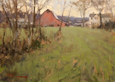 "Roger Dale Brown - ""Into View"", 18x24, Oil, Sold"