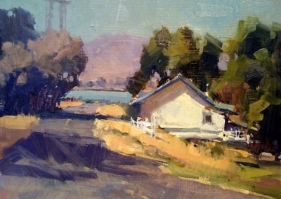 "Randall Sexton - ""Delta Backroads"", Oil, SOLD"