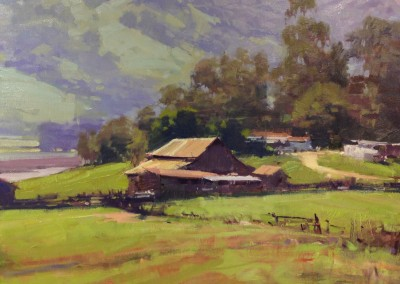 """Randall Sexton - """"Old Lakeville Road"""", 24x30, Oil, SOLD"""