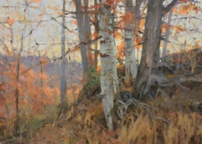 "Roger Dale Brown - ""Cadence of Autumn"", 24x30, Oil, Sold"