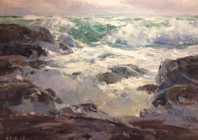 "Dale Ratcliff - ""Gale Force"", 30x40, Acrylic"