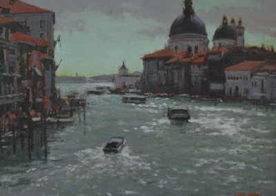 "William Maughan - ""Grand Canal"", 11x14, Oil"