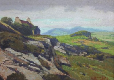 "William Maughan - ""The Burren"", 11x14, Oil"