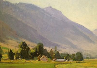 "G Russell Case - ""Valley Farm"", 9x12, Oil"