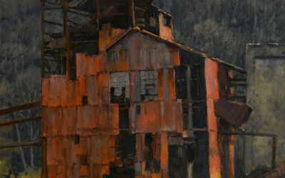 "Stapleton-Kearns - ""Old Sawmill"", 24x18, Oil"