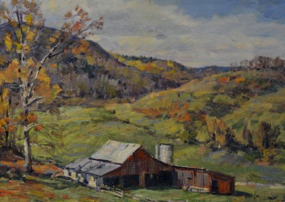 "Stapleton Kearns - ""Valley Farm"", 11x14, Oil"