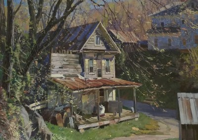 "TM Nicholas - ""Spring Light WV"",   24x24, oil, Sold"