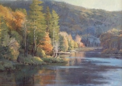 "John Poon - ""Greenbrier at Anthony Creek"", 48x48, Acrylic, SOLD"