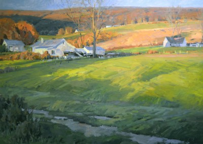 "John Poon - ""West Virginia  Fields"", 48x60, Acrylic"