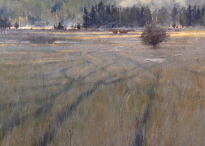 "Kenn Backhaus - ""Morning Frost"", 20x24, Oil"