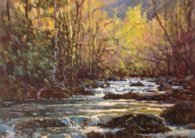 "Perry  Austin - ""High Water Early Spring"", 30x24, Oil"