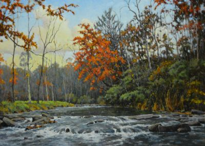 "Perry Austin - ""Second Creek"", 30x40, oil"
