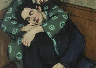 "Malcolm Liepke - ""In Her Arms"", 35x25, lithograph, SOLD"