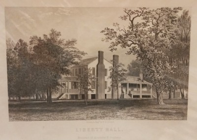 "Dougal, W. H. - ""Liberty Hall"", $70, Engraving"